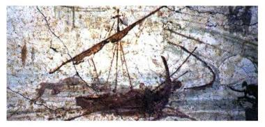 Roman-galleon-Pompei-Fresco
